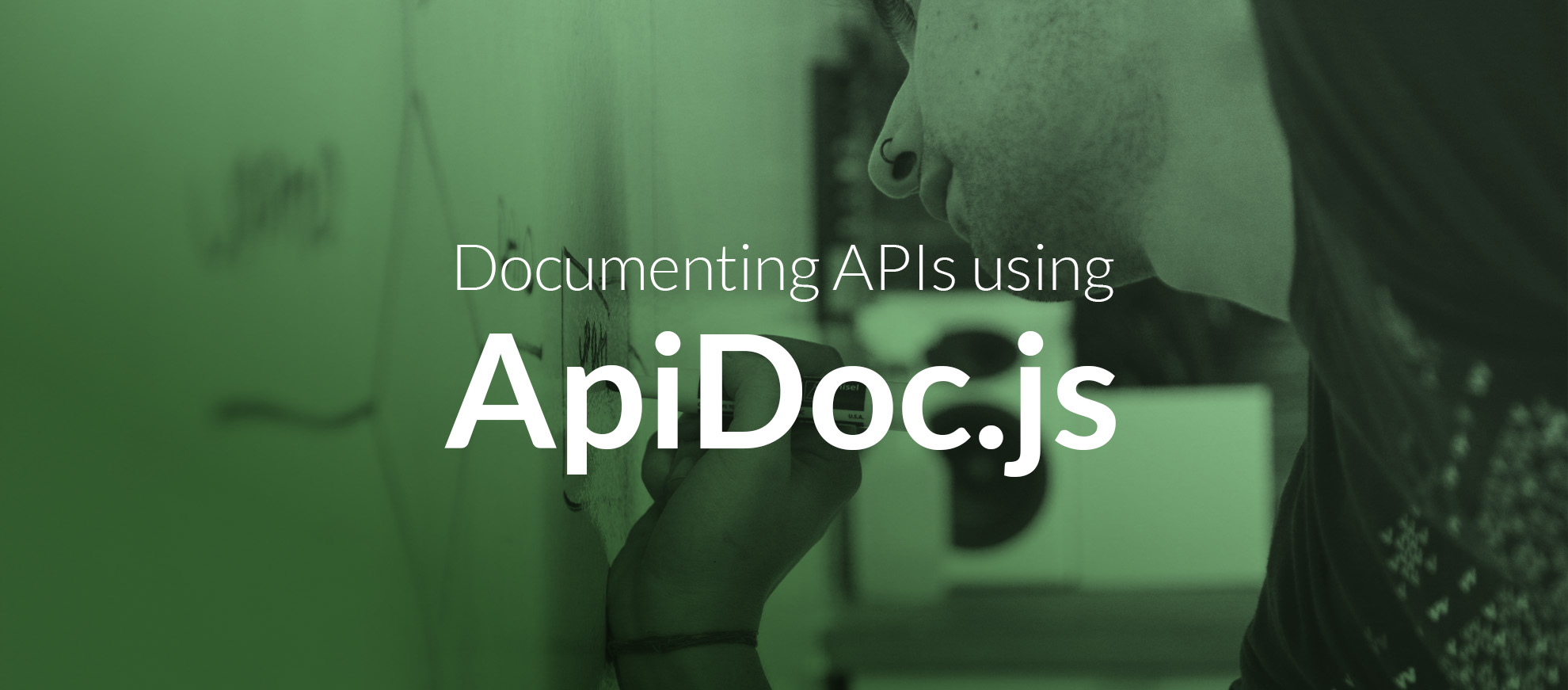 Documenting APIs using ApiDoc.js