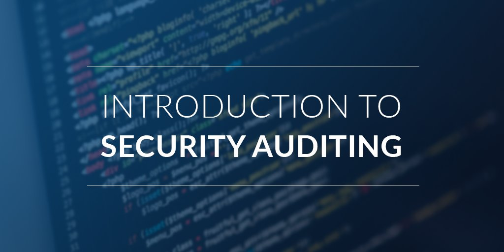 Introduction to Security Audit