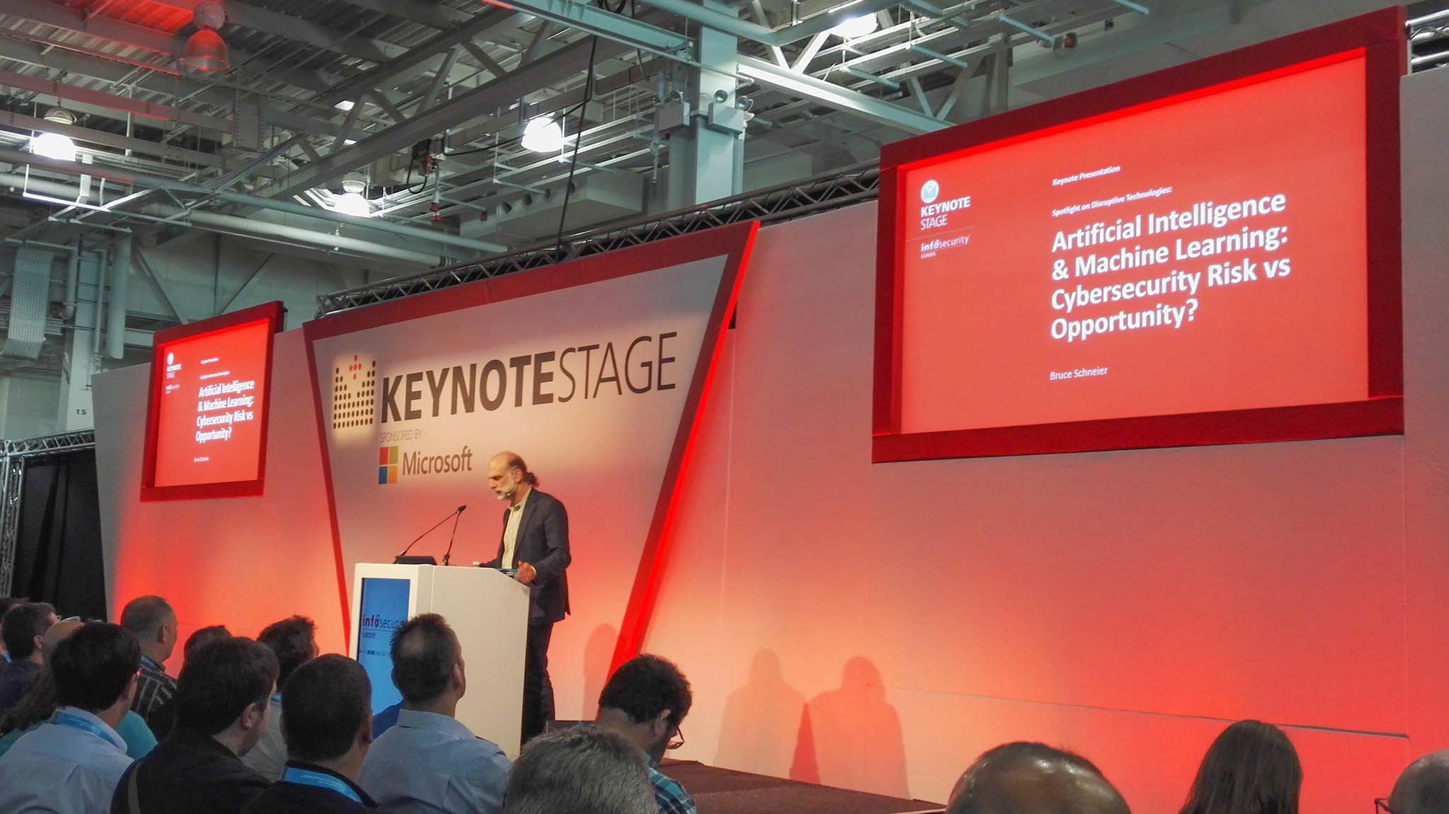 bruce-schneier-presenting-at-infosecurity-europe