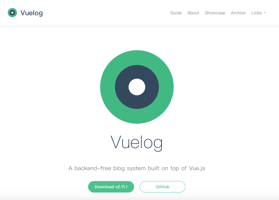 Vuelog starting point