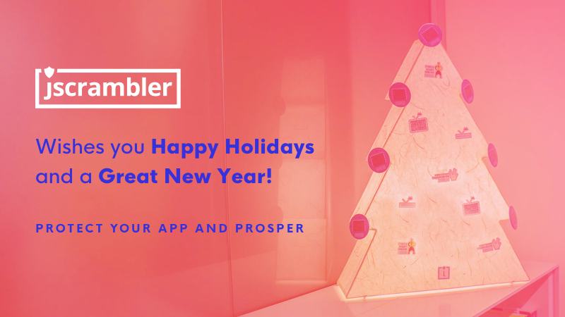 Happy Holidays from Jscrambler - A Special Gift For You