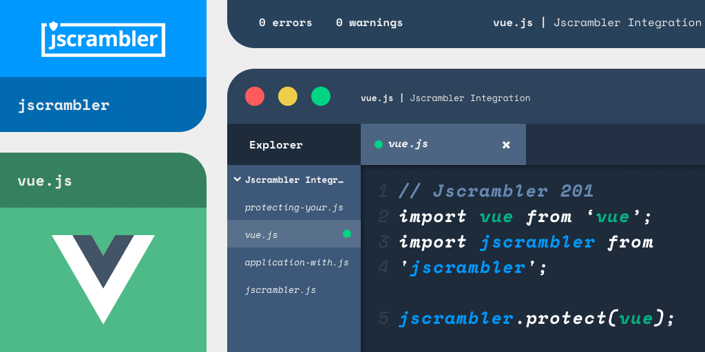 How To Protect Your Vue js Application With Jscrambler | Jscrambler Blog