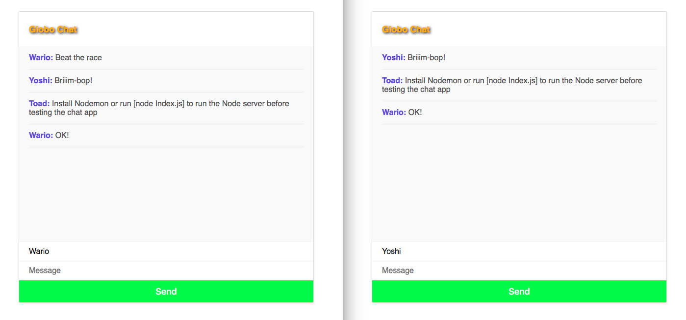 Chat Room App with Socket.IO and WebRTC