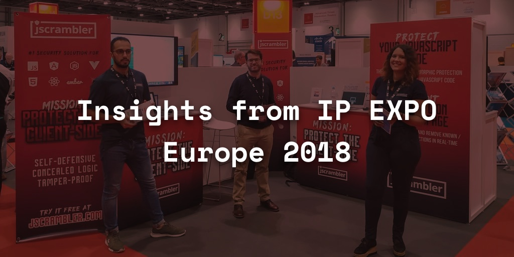 Insights from IT Innovators at IP EXPO Europe 2018
