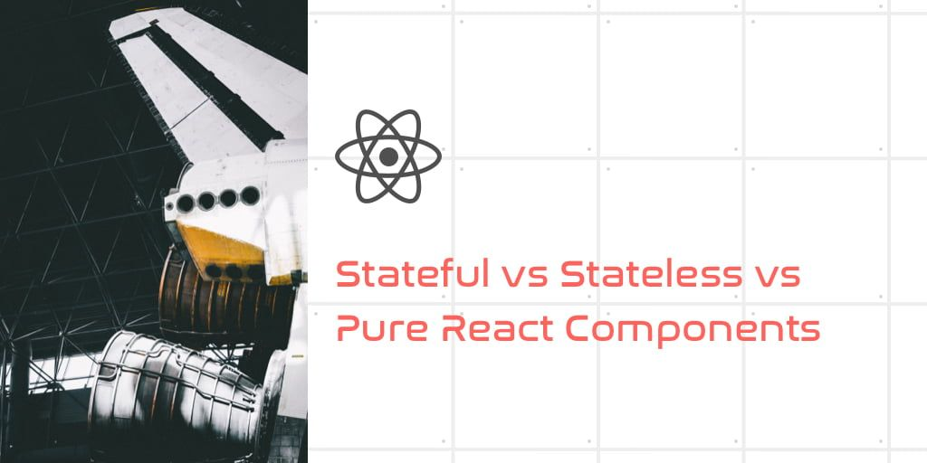 Stateful vs Stateless vs Pure React Components