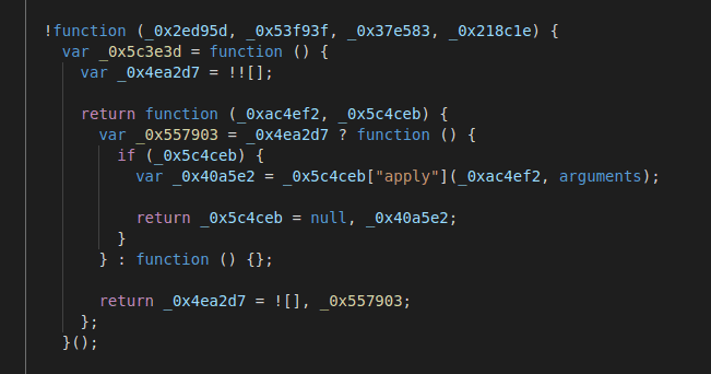 Deobfuscated code details